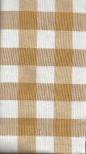 2 Yards of Goldish Tan Plaid Quiltiing Fabric