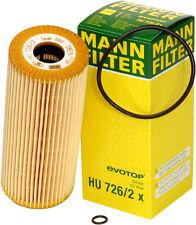 Oil Filter 2-Pack Mann 726/2x Volkswagen/Audi TDI Oil Filter (A4)(B5.5)
