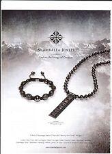 SHAMBALLA JEWELS Publicité de Magazine ( page de mag)Magazine advertisement.