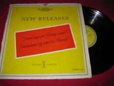 RARE DEUTSCHE GRAMMOPHON SAMPLER LP - NEW RELEASES