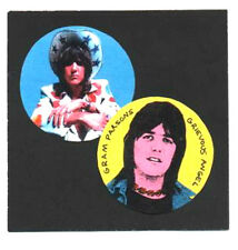 2 GRAM PARSONS  BADGES.  Country, Flying Burrito Bros.