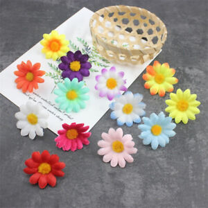 Mini Daisy Flower Artificial Silk Flowers Party Wedding Home Decor(without steSG