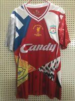 Liverpool Special Memorabilia Edition Retro Football Shirt Extra Large XL