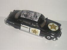Matchbox MAYBERRY Andy Griffith show 1952 HUDSON HORNET Police car custom