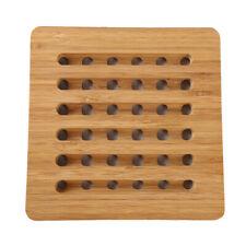 Bamboo Heat Resistant Mat Kitchen Pot Pan Holder Non-Slip Placemat Pad ONE