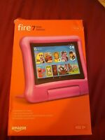 """Fire 7 Kids Edition Tablet 9th Generation  7"""" Display 16 GB - Pink New"""