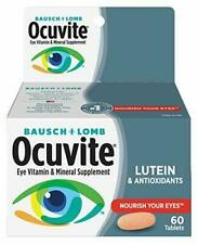 Bausch + Lomb Ocuvite Eye Vitamin and Mineral Supplement with Lutein, 60...