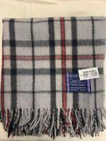100% Wool Blanket | Tweeds Of Scotland | Grey Thomson | Tartan | Warm & Classic