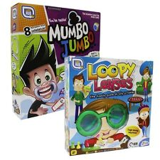 DOPPELPACKUNG FAMILIE PARTY SPIELE - LOOPY LINSEN & MUMBO JUMBO JIBBER JABBER
