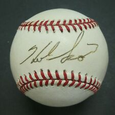 Herb Score Cleveland Indians Signed Official American League Baseball