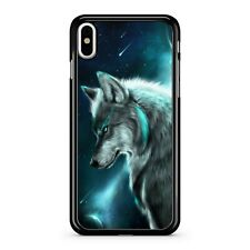 Majestic Space Wolf Blue Milky Way Starry Galaxy Sky Fabulous Phone Case Cover