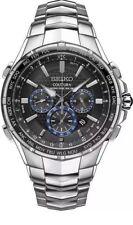 Seiko Men's Coutura Radio Sync Solar Chronograph Stainless Watch SSG009