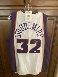 AMARE STOUDEMIRE Signed Autograph Phoenix Suns  Jersey JSA certified