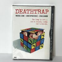 New Sealed Deathtrap DVD 1999 Michael Caine Christopher Reeve Dyan Cannon