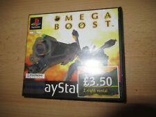 Omega Boost PS1 PlayStation 1 PAL Game - Boxed Rare EX Rental