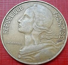 France Coin 20 Centimes 1964 Republique Francaise French Circulated Coins