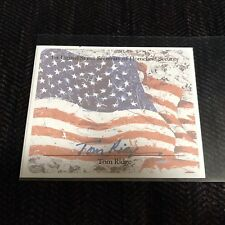 PA Gov./DHS Sec. Tom Ridge Signed AUTOPEN Book-plate MINT Nice!!!