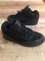 Nike Air Jordan Executive Men's Size 8.5 Low Preimium Bred Black Sneakers