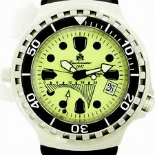 Retrograde GMT 100ATM HELIUM-SAFE LUMINOUS SAPHIR T104