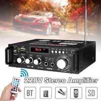 Amplificador De Audio Del Coche Bluetooth 600W Sistema ESTÉREO Sonido Subwoofer