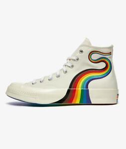 Converse Chuck 70 Hi Pride Taylor All Star Unisex Lifestyle Shoes Egret 170821C