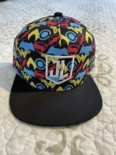 🎼Justice League Men's Women's Adjustable Snapback Hat Cap Flat DC Comics New