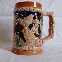 Vintage Ceramic Handcrafted Beer Stein ~ Made in Japan ~ German Style ~  MBC B3