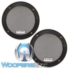 "GLADEN GI100 4"" CAR SPEAKER COAXIAL COMPONENT PROTECTIVE GRILLS COVERS PAIR NEW"