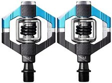 Crank Brothers Candy 7 Premium Pedals (incl. Cleats) - BLUE/BLACK - NEW