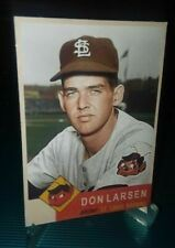 St Louis Browns Don Larsen RC 1953 Inspired ACEO Blank Back