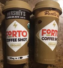 8x FORTO Coffee Shot Energy Drink Hershey's (Chocolate And Vanilla Lattes)