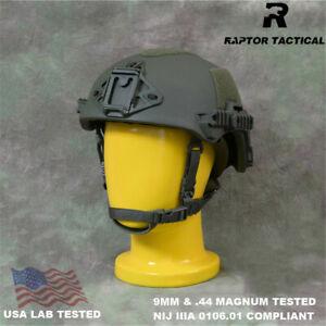 Raptor Wendy EXFIL SL Style NIJ IIIA 3A Tested High Cut UHMWPE Ballistic Helmet