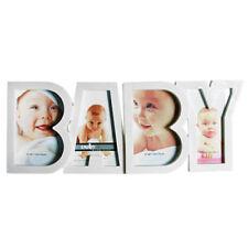 Cornice Portafoto da Tavolo in Plastica Baby Bambini Bimbi 4 Fotografie Foto