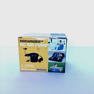 Bestway Sidewinder AC Air Pump Electric 3 Valve Adaptors Inflates And Deflates
