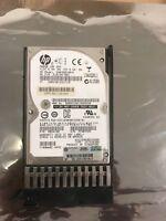 "HP EG0300FBDBR 597609-001 GPN:507129-003 300GB 10K 6G 2.5"" SAS HARD DRIVE tray"