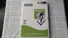 TEXT HELP READ & WRITE 7.1 PC NEW SEALED ( literacy, language & learning )