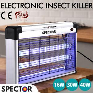 Spector Mosquito Killer Pest Fly Bug Zapper Catcher Trap Electric UV-A Aluminium