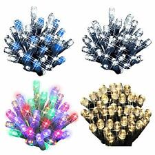 100 LED Christmas Lights String Chaser Christmas Lights Flash Festive Xmas Tree