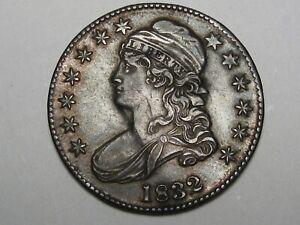 High-Grade 1832 US Bust Half Dollar. #1