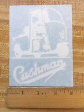 "Cushman 4"" Truckster Vinyl Decal"