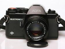 VERY RARE AGFA SELECTRONIC 1 SLR+COLOR 50MM 1.4 PK mount LENS  ***MINT*** #0677