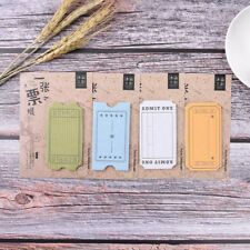 Sticky Notes Notebook Memo Pad Bookmark Paper Sticker Notepad Stationery FB