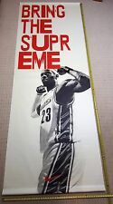 "LeBRON JAMES ""Bring The Supreme"" 10ft. Vinyl Rafter Banner - Cleveland Cavaliers"