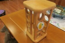 Rotating Wood spice or  K Cup coffee Pods Holder Storage M. Kamenstein  Inc.