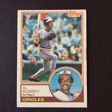 1983 Topps AL BUMBRY #655  Baltimore Orioles