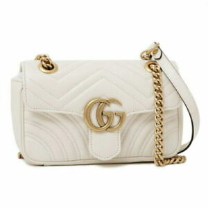 Gucci Women GG Marmont luxury Leather Bag