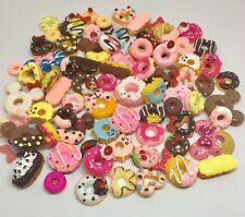 New Designs Doughnut Cabochons Donuts Flat Back Embellishments Decoden Crafts