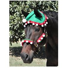 Elf Halter Set for Horses Will cover both cheeks and the nose band.