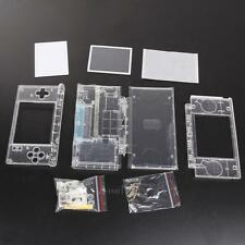 Replacement For Nintendo DS Lite Housing Shell Screen Lens Crystal Clear Housing