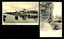 NEDERLAND 1910/1936 =SCHOORL= SCHOORLDAM = 2 x AK = FRAAI/PRACHT